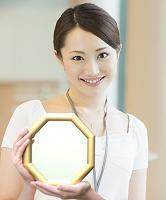 ミニ風水鏡 八角形鏡